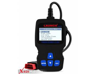 LAUNCH OM123 Obdii Auto Scanner OBD2 Diagnostic Code Reader Read & Clear Error Codes Scan Tool