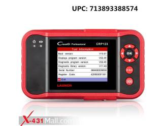 Launch CRP123 OBD2 Scanner Engine/ABS/SRS/Transmission Automotive Code Reader Diagnostic Scan Tool