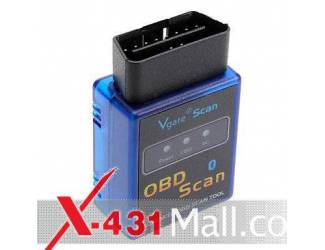 LAUNCH Cars-001 Portable Mini V1.5 ELM327 OBD2/OBDII Bluetooth Auto Car Scanner