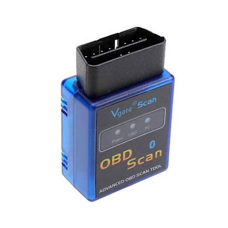 LAUNCH Cars-001 Portable Mini V1.5 ELM327 OBD2/OBDII Bluetooth Auto Car Scanner