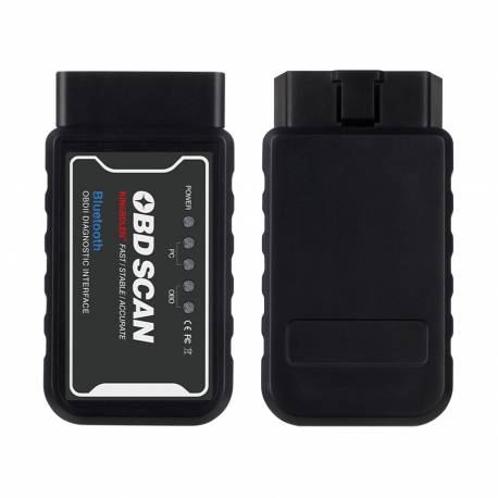 KINGBOLEN Mini Bluetooth OBD2 Scanner OBD II Car Diagnostic Tool