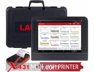 LAUNCH X431 V Pro Bi-Directional Full System Scan Tool.WiFi Printer as Gift