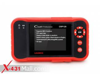 Original Launch CRP129 Launch Creader CRP129 Update Online Support 4 System Engine,Transmission,ABS,Airbag